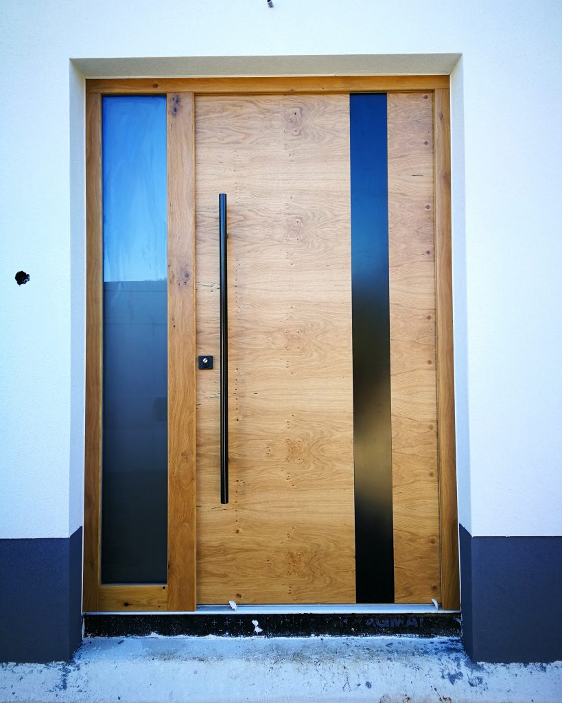 hrast grča vhodna vrata